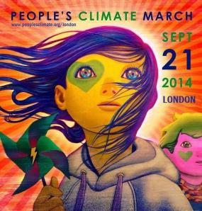People's Climate March, London, 21 September 2014