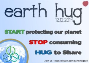 Earth hug day 12 December 2014