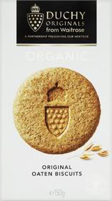 Image of a packed of Dutchy Originals Oaten Biscuits