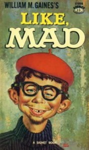 Cover image from the book 'Like, MAD'.