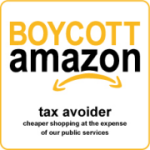 Boycott Amazon - tax avoider