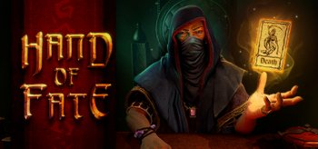 advertising image for the game 'Hand of Fate'