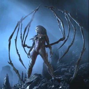 Sarah Kerrigan as the Queen of Blades