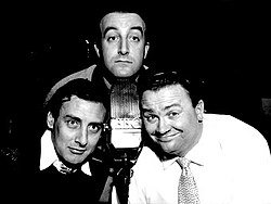 The Goons: Peter Sellers, Spike Milligan and Harry Secombe