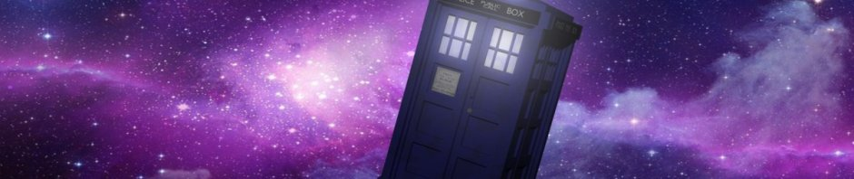 TARDIS flying through space