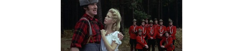 Still from Monty Python's 'The Lumberjack Song'
